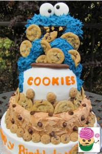 CookieMonsterCake